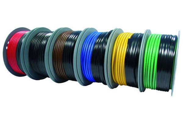 Bilde av PVC isolert forinnet kabel 4mm2, rød