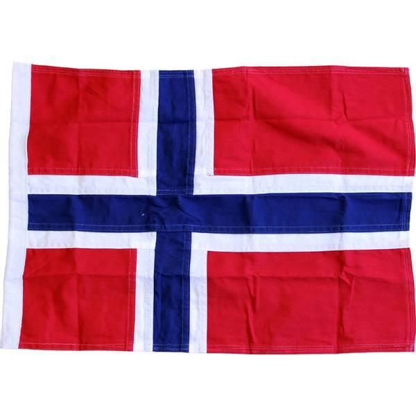 Bilde av Norsk Båtflagg 70cm, Royal bomull