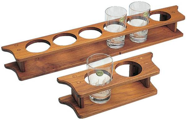 Bilde av Teak glassholder, 4 glass