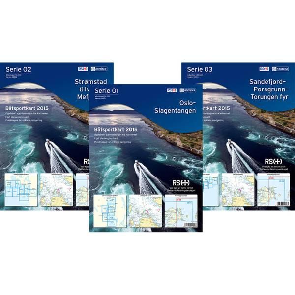 Bilde av Båtsportkart Serie 01 Oslo -Slagentangen