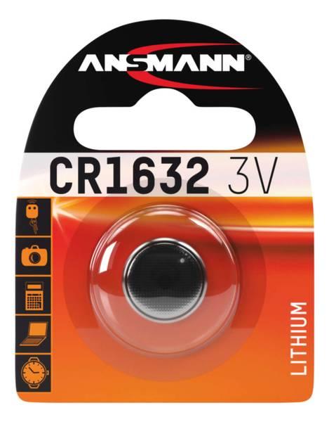 Bilde av Lithium batteri CR1632, 1-pk