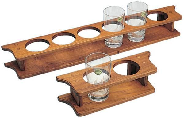 Bilde av Teak glassholder , 6 glass